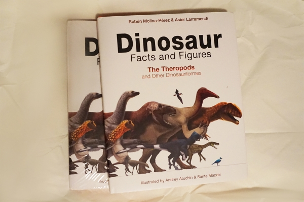 Dinosaur Facts and Figures volume 1 is finally out in stores!