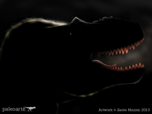 Daspletosaurus in the dark